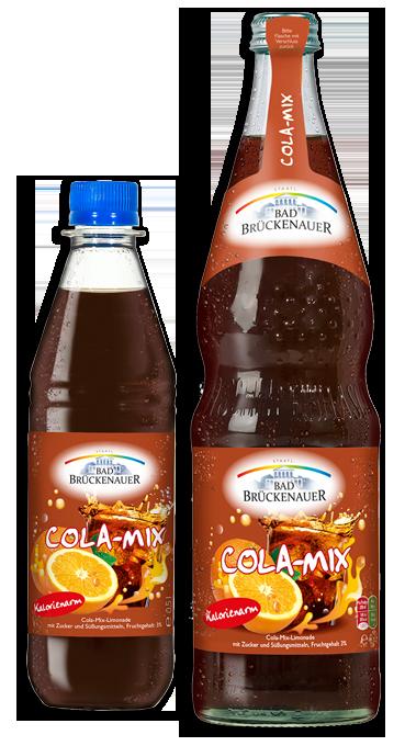 Bad Brückenauer Cola-Mix 0,5 und 0,7