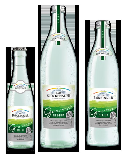 Bad Brückenauer Gourmet Mineralwasser medium