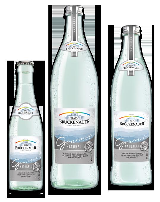 Bad Brückenauer Gorumet Mineralwasse naturell