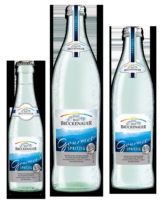 Bad Brückenauer Gorumet Mineralwasser spritzig