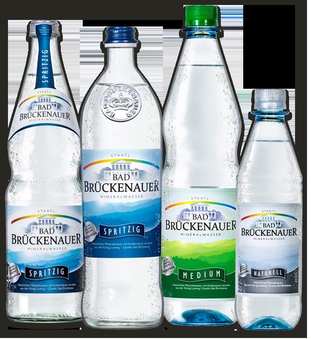 Sortiment Mineralwasser Übersicht