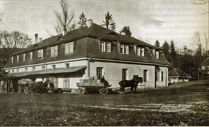 altes Füllhaus