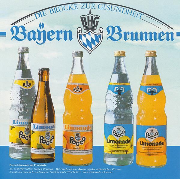 Bayern Brunnen Limonaden