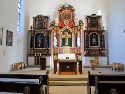 Wallfahrtskirche Volkersber neu renoviert 2016